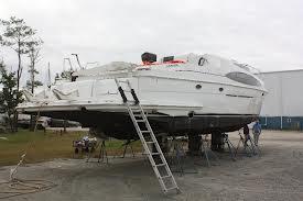 boat on drydock