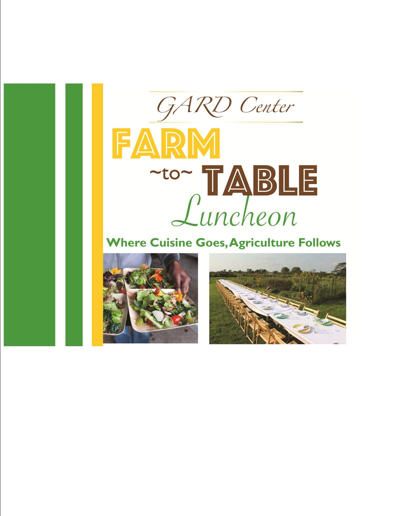 Farm to Table - Taste the Difference