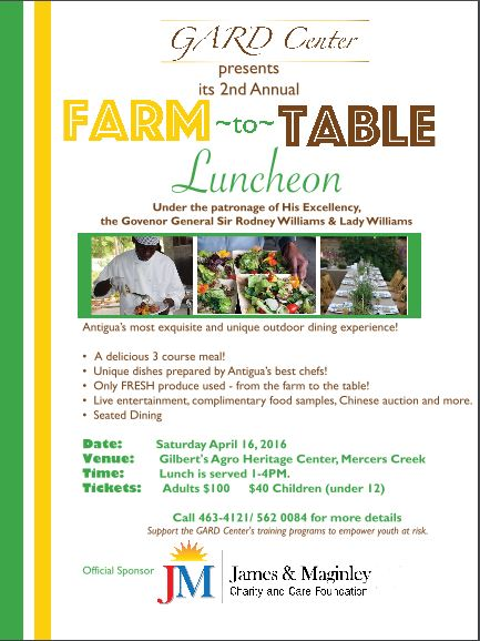 Farm to Table Flyer