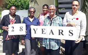 GARD Center staff celebrate 28 years