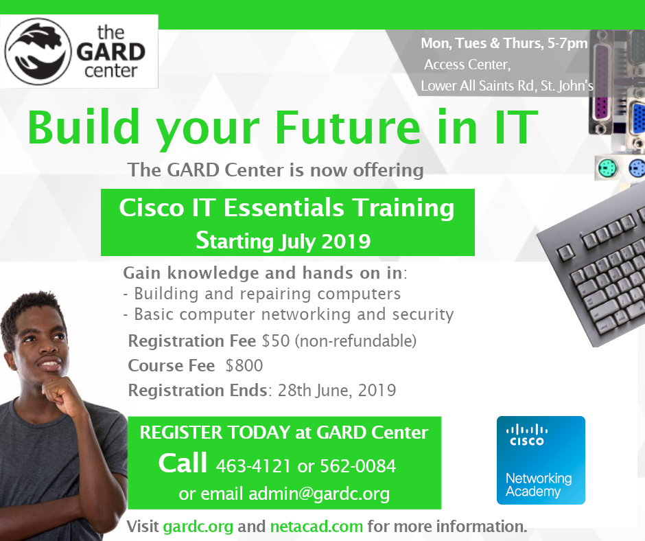 Cisco ITE Training Course Flyer 6 Update