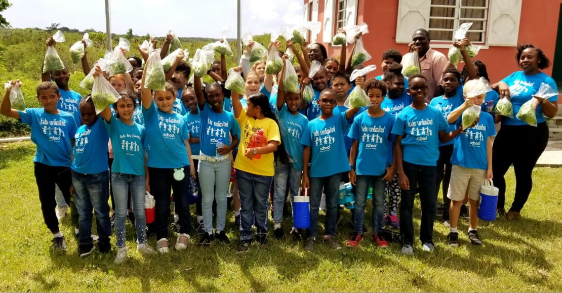Kids Unlimited Visit GARD Center Hydroponics
